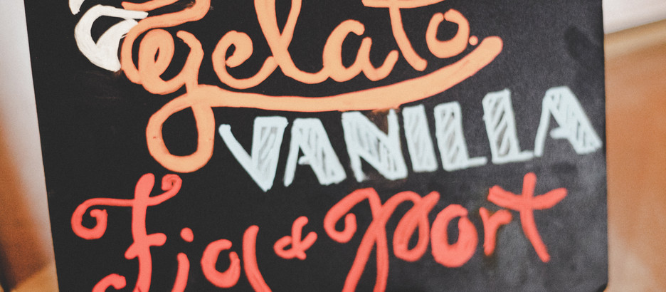 the girl & the fig CATERS!: Gelato Cart
