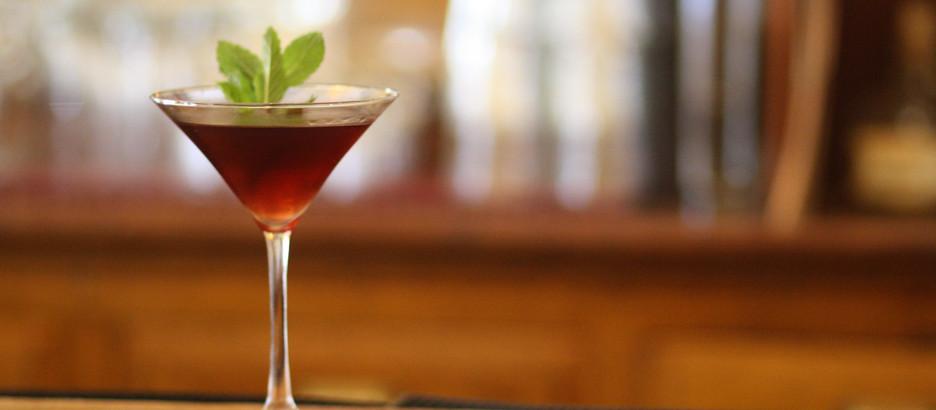 Fig Martini Two Ways