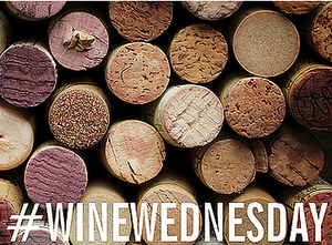Wine Wednesday Graphic