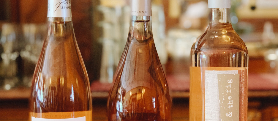 Wine Flight Review: Stop and smell the rosé
