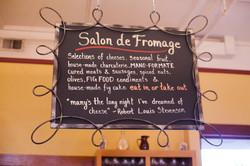 Salon de Fromage Sign