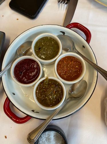 Mexico City salsas