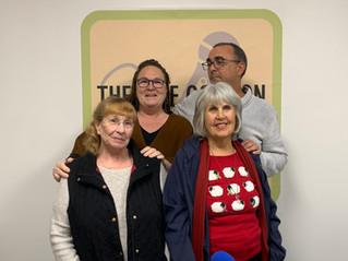 Brian, Sondra, and their mom's