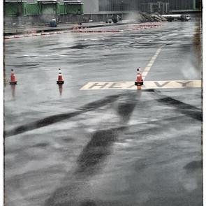 Rainy Day Take-Off