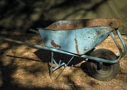 Rustic Wheel Barrow