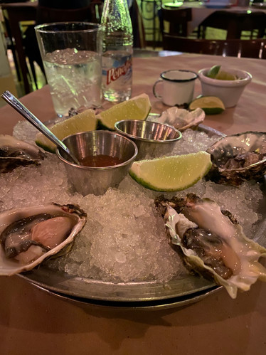 Mexico City oysters