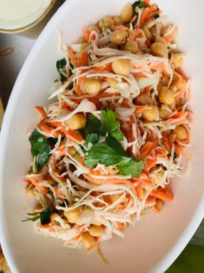 carrot & chickpea salad