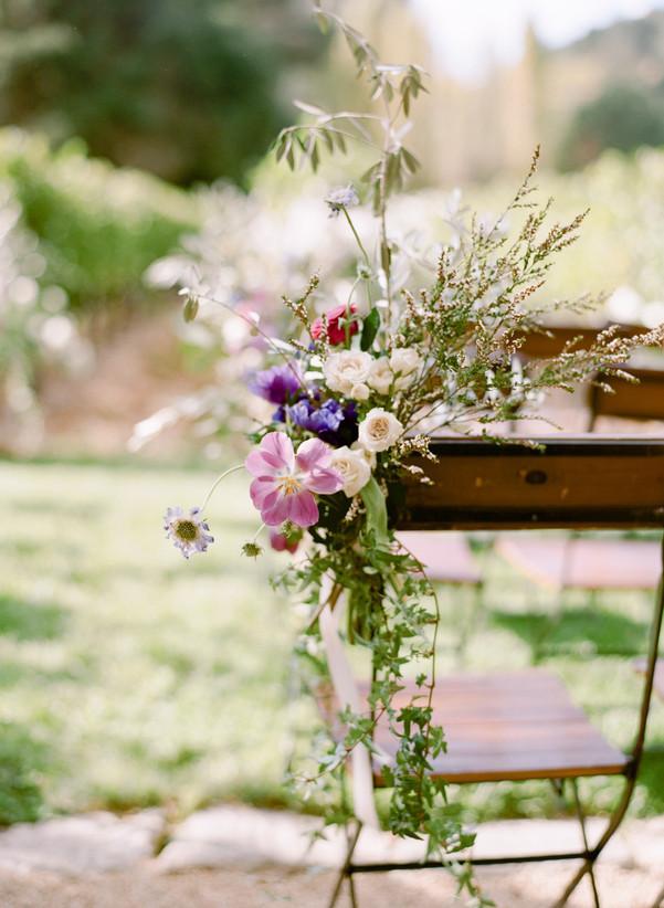 floral accents