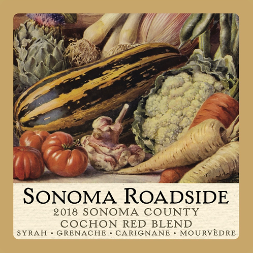 Sonoma Roadside 2018 Cochon Red Blend