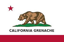 Californa Grenache Flag
