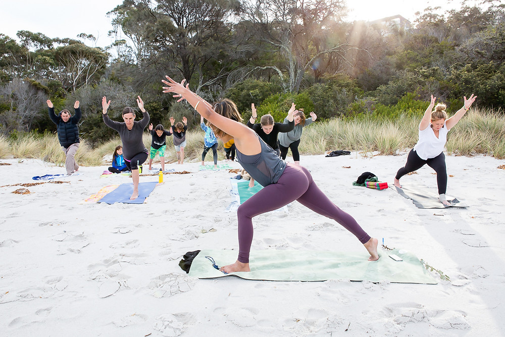 Yoga, Binalong Bay, Bay of Fires, Ally Ward Photography, St Helens, Photography, Photographer, East Coast Tasmania Photographer, St Helens Photographer, Bay of Fires Photographer