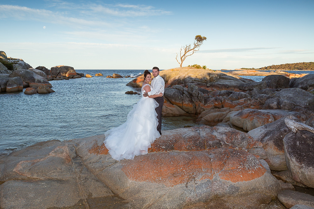 East Coast Tasmania, Wedding photography