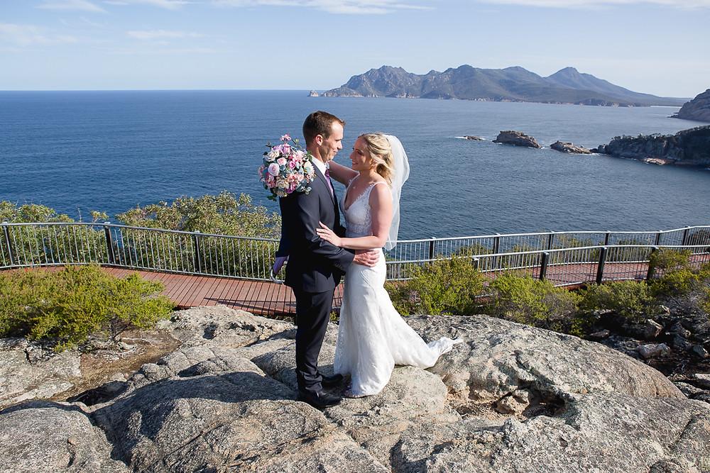 Elope, Wedding, East Coast Tasmania, Ally Ward Photography, Coles Bay, Freycinet National Park, Wedding, Tasmania Wedding
