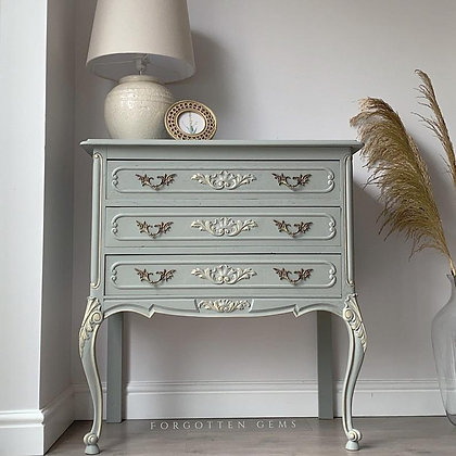 French Chest of Drawers in Sage