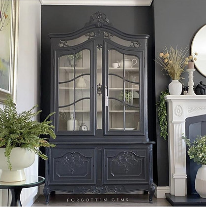 French Glazed Cabinet in Ash