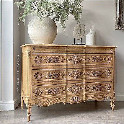 Large French Carved Chest
