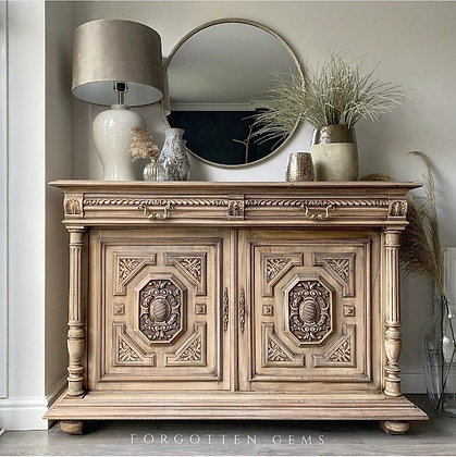 Large French Carved Cabinet
