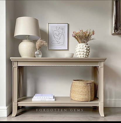 Modern Style Console Table / Sofa Bench