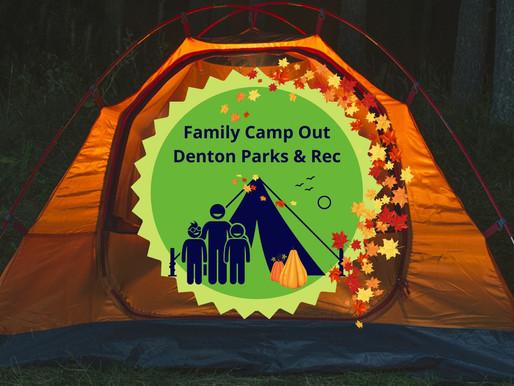 Camp At South Lakes Park!