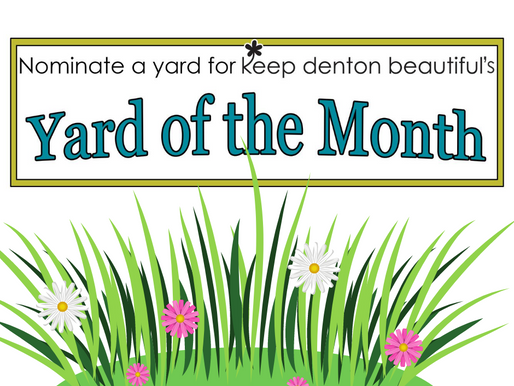 August Yard of the Month Winners