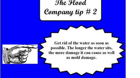 The Flood Company Tip 2