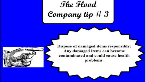 The Flood Company Tip 3