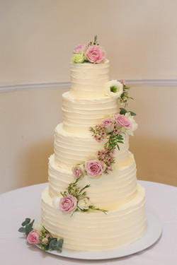 Eastington Park 5 tier Wedding Cake