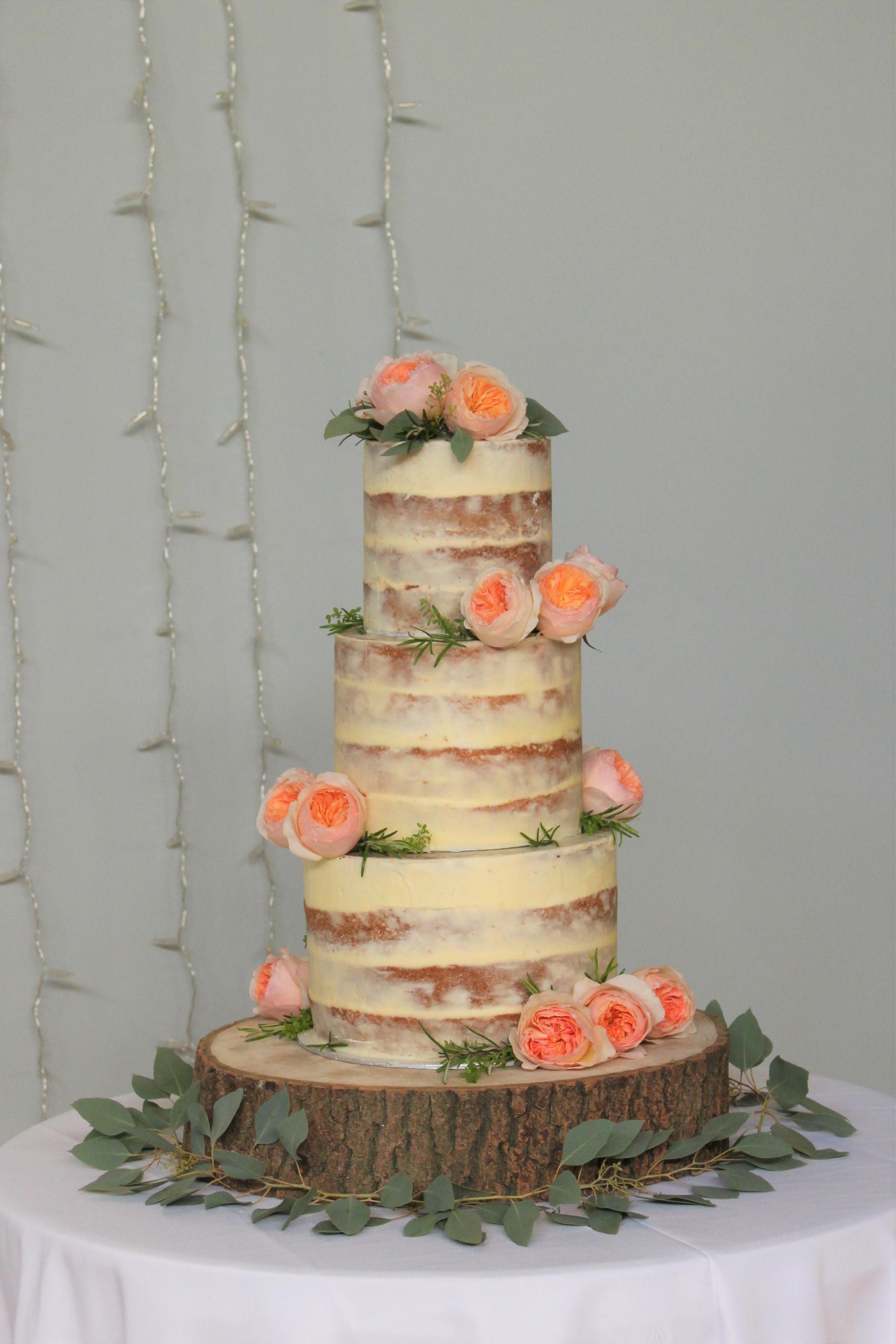 Matara Semi Naked Cake