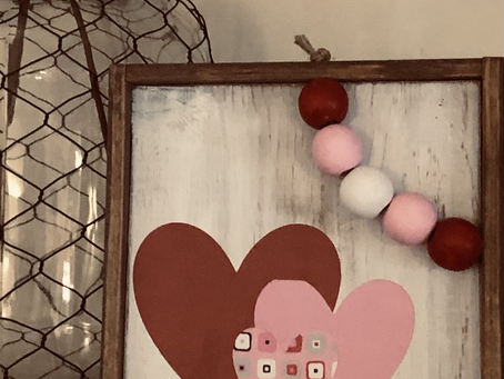 Mommy & Me Valentine Decor