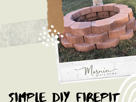 Simple DIY Fire Pit