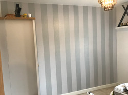 Feature Wallpaper hanging Cheshunt