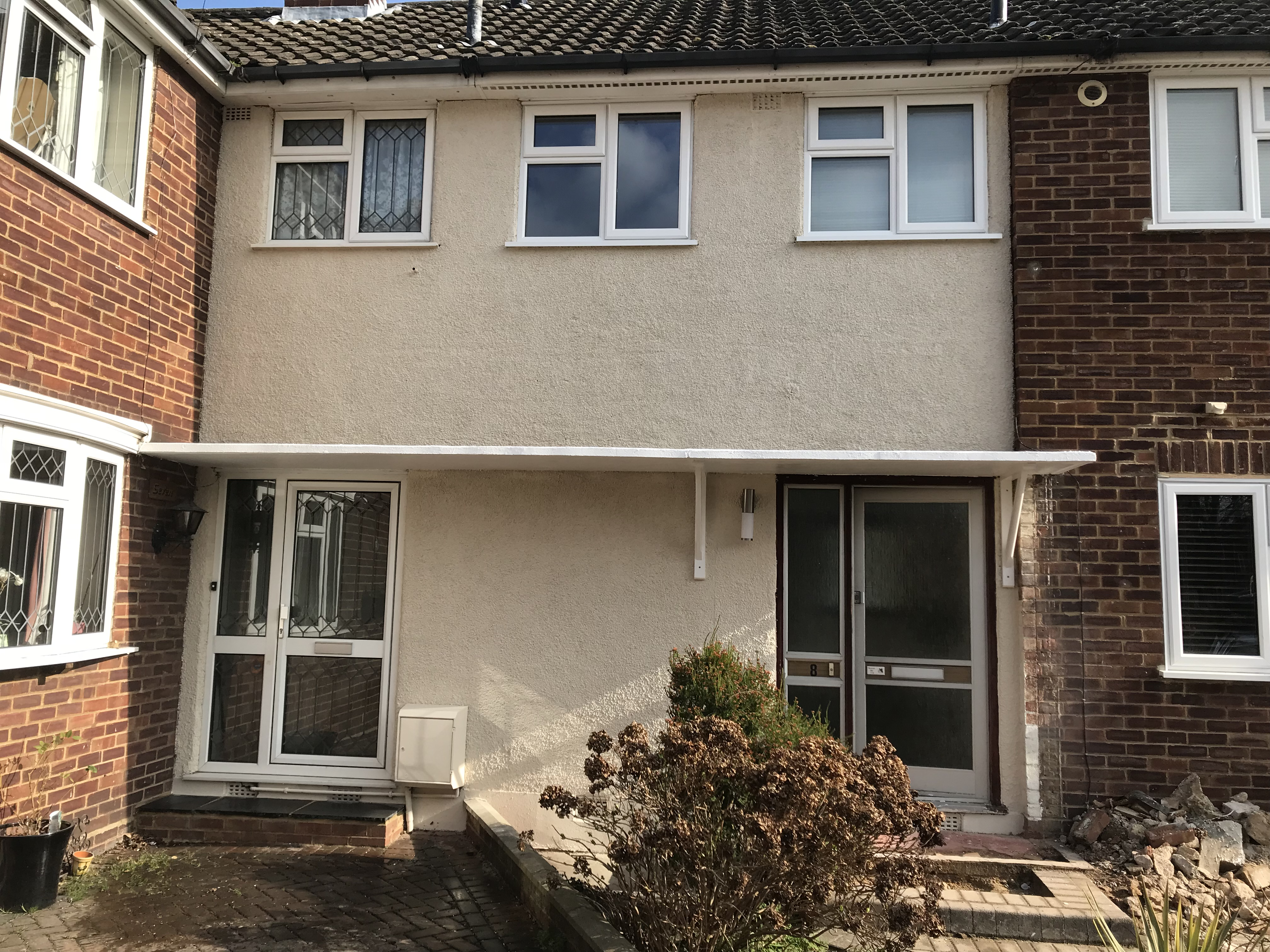 Exterior painting in Waltham Cross