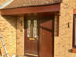 Exterior Porch varnish Cheshunt