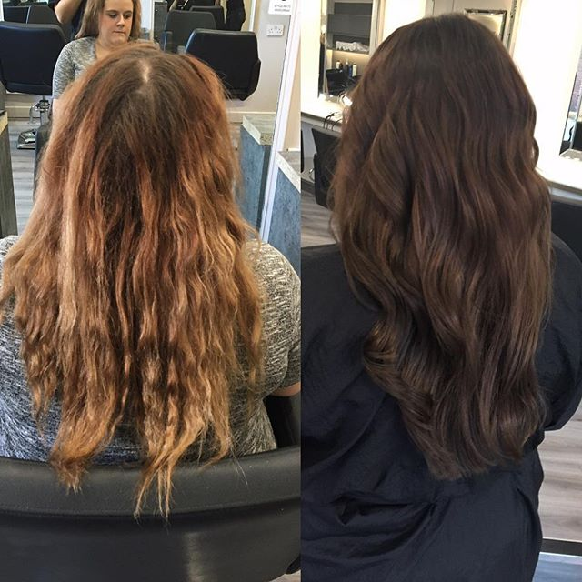 Amazing colour correction done by Amy today