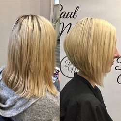Completely re-style for Megan today, colour and graduated bob done by Amy⭐️🌟✨ _megan_wainman _hairb