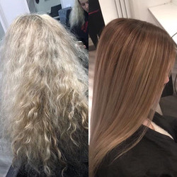 before and after 😐😂 Jemima came in wanting something a bit different as she felt she needed someth
