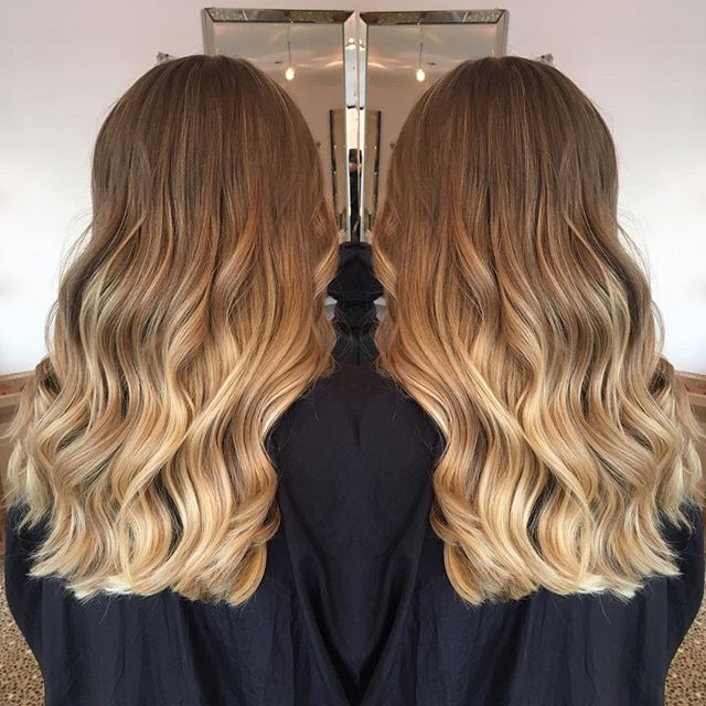 Ombré ombré ombré, LOVED this colour that was done today. Soft natural ombré, 2017 hair trend