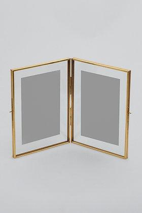 Fotoğraf Çerçevesi Masaüstü Gold Pirinç Brass 20x15cm