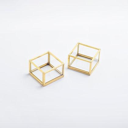 Gold Pirinç Brass Dekoratif Mumluk Takı Aksesuar Yüzük Kutuları