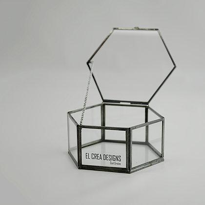 Siyah Antrasit Yüzük Kutusu 11 x 9,5 x 5 cm