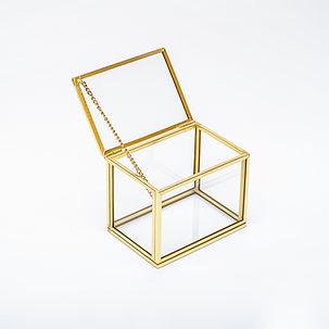 Gold pirinç brass bakır rose gold siyah gümüş cam kapaklı yüzük kutuları kartvizitlik