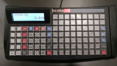 Sub-keyboard 98 keys