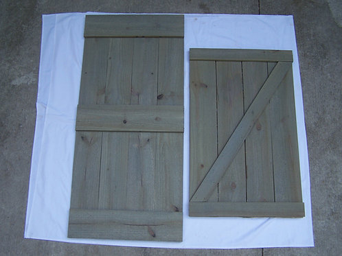 Hanging Dead Barn Door (22 x 48)