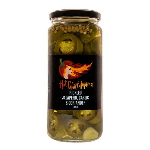 Pickled Jalapeno, Garlic & Coriander