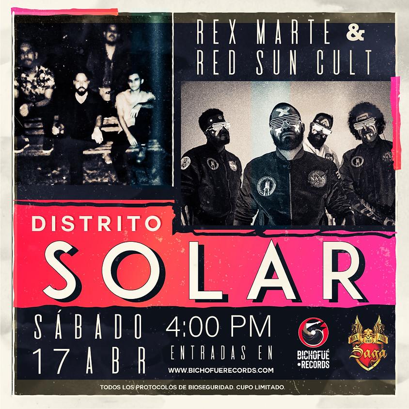 Distrito Solar - Rex Marte y Red Sun Cult en vivo