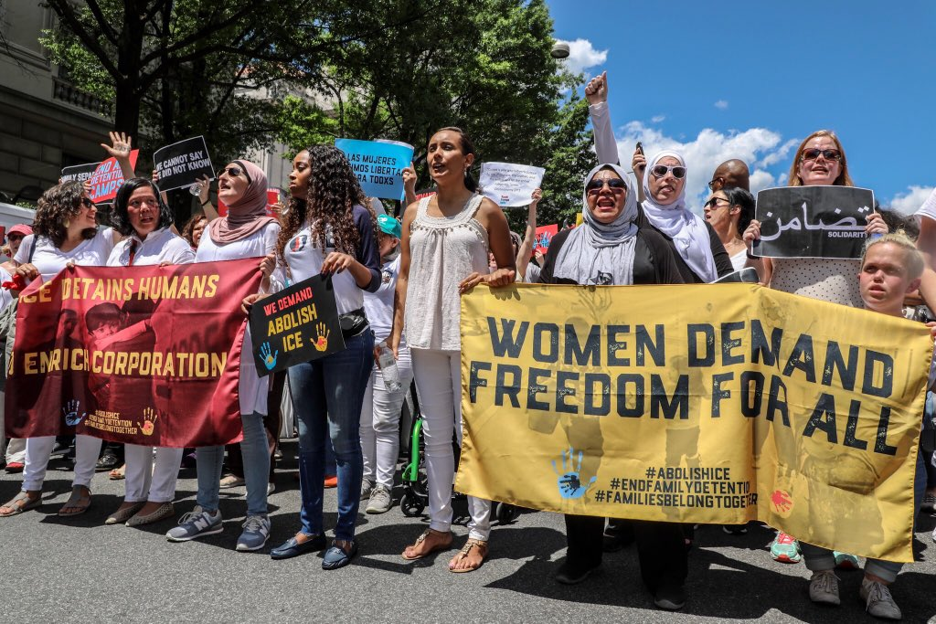 Women's March Day of Action 6.28.18