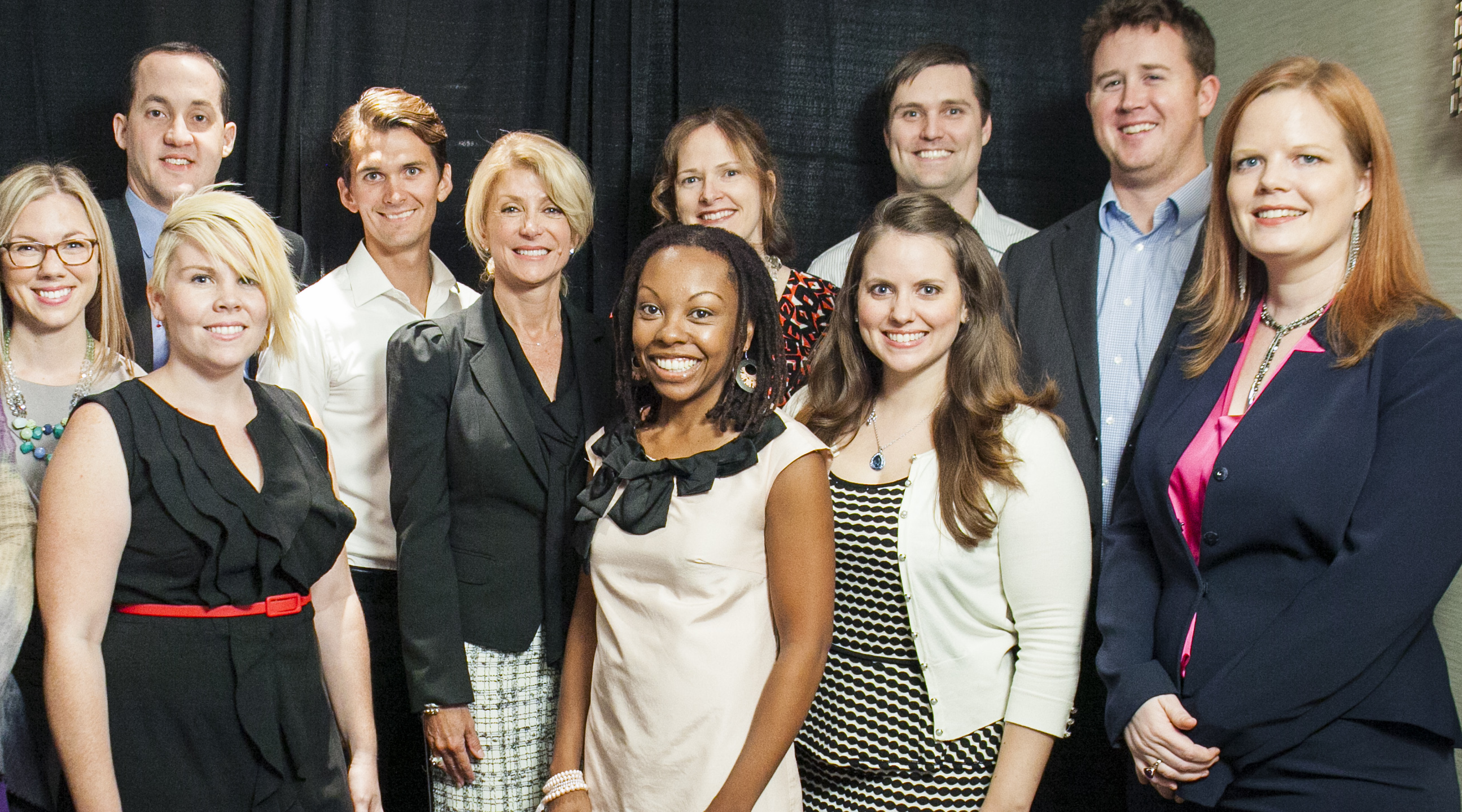 Wendy Davis at Alley's House Event