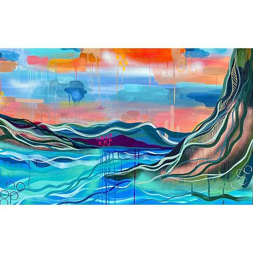 """""""Sisu"""" Original Painting"""