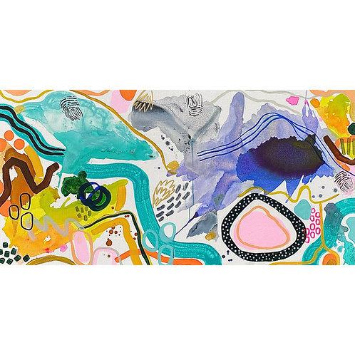 """""""Thumbprints"""" Original Painting"""