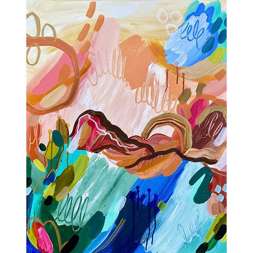 """Artist's Sunrise"" Original Painting"